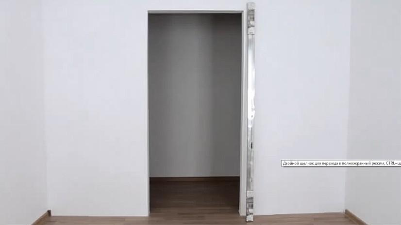 Перед монтажом двери