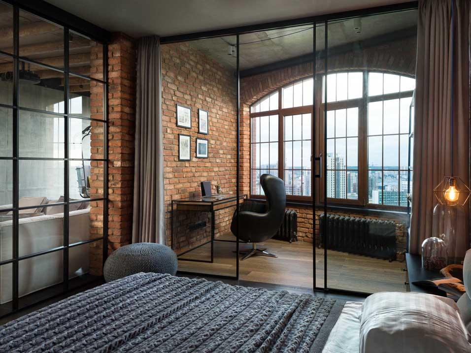 Перегородка loft 3