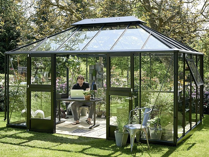 Садовый павильон алюминиевый