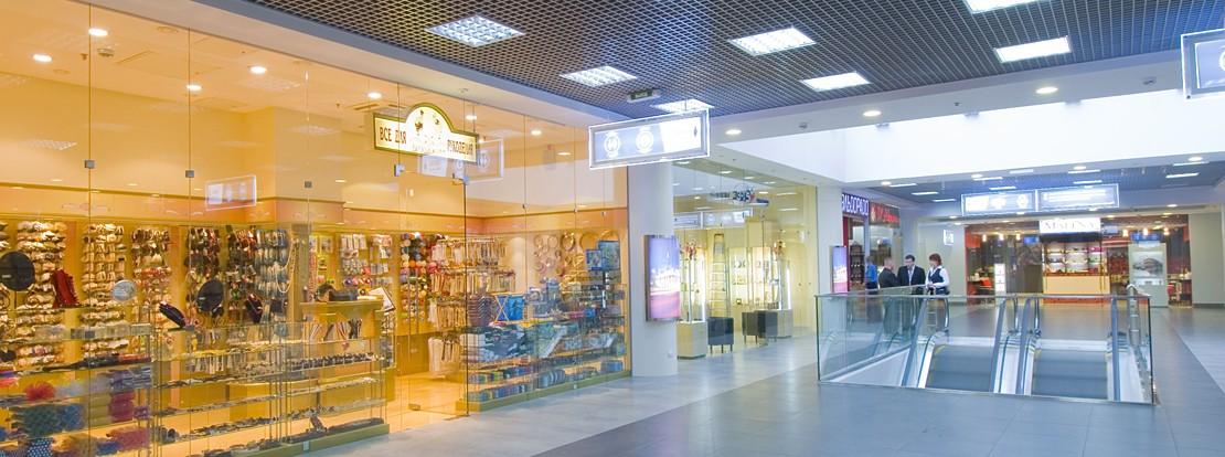 Остекление торгового центра