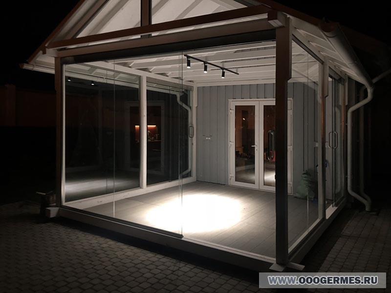 Застекленная терраса - Вид снаружи