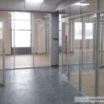 Двери и перегородки в алюминиевом каркасе