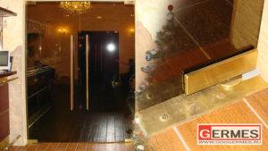 Маятниковые двери для ресторана «ЗЕВС