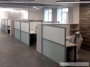 Офисные межстольные экраны - фото 3