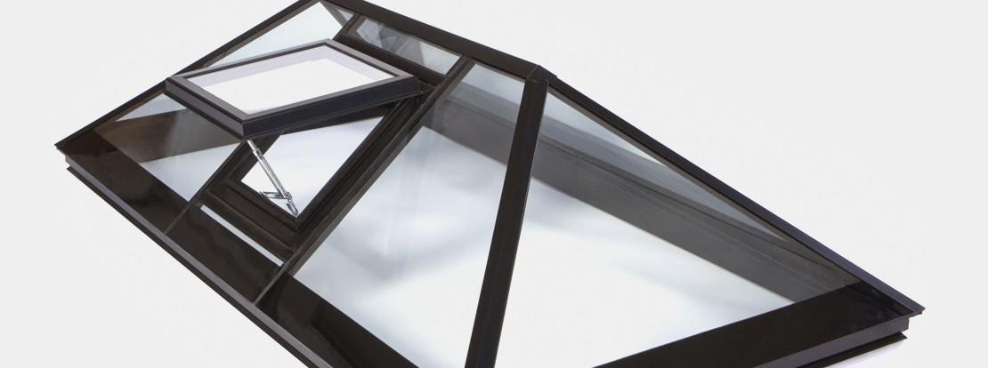 Алюминиевый световой купол