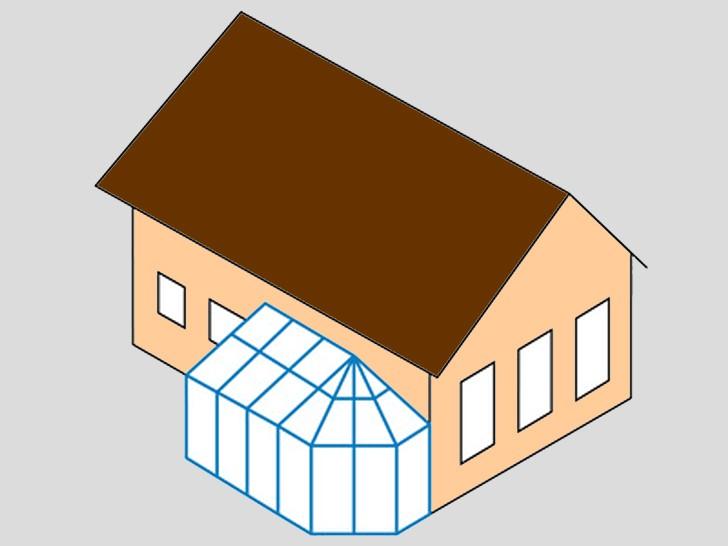 Зимний сад 2 - односторонний многоугольник