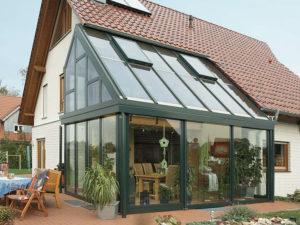 Пристройка с захватом крыши