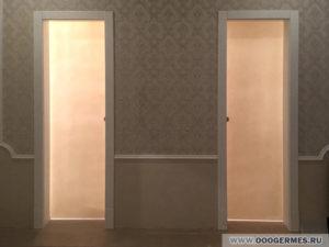 Светопрозрачные откатные двери