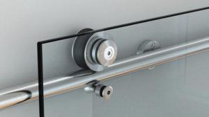 Раздвижная система для стеклянной двери