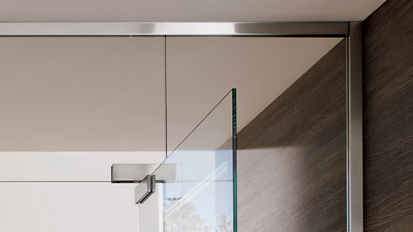 Фитинги для маятниковой стеклянной двери