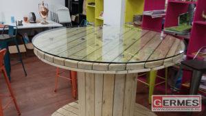 Облицовка дизайнерских столов