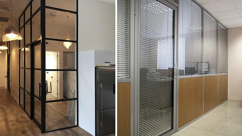 Алюминиевые перегородки для частных и коммерческих объектов