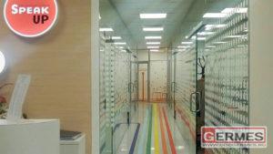 Перегородки и двери для учебного центра