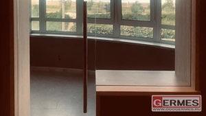 Цельностеклянные оконно-дверные блоки балконные